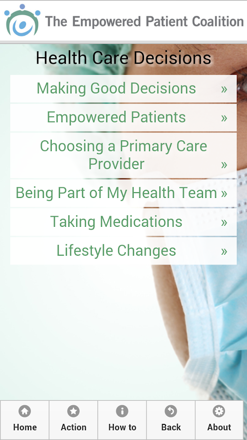 Empowered Patient- screenshot