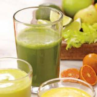 Green Ginger Juice.