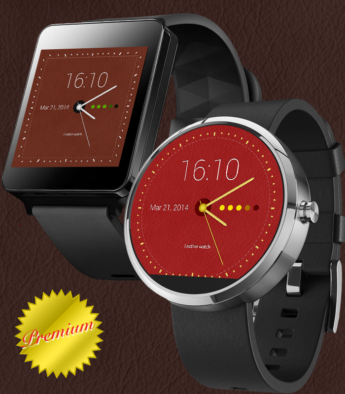 RichWatchface-TL Android Wear- screenshot