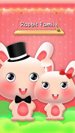 Rabbit Family Hola Theme