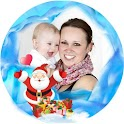 Photo Frames Christmas Montage icon