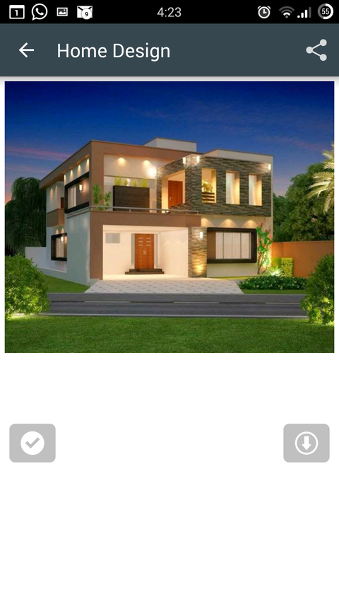 Home elevation 3d designs android apps on google play for 3d house design app