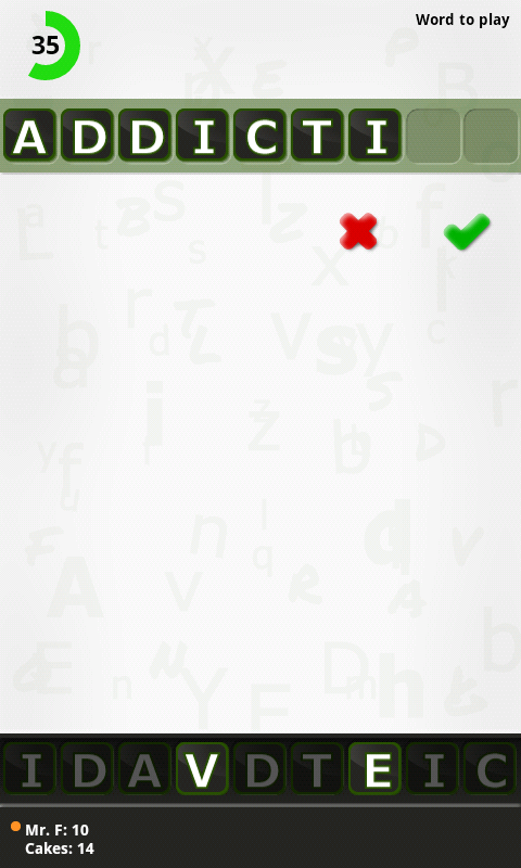 Letters and Numbers- screenshot