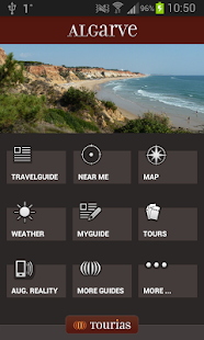 Algarve Travel Guide - Tourias - screenshot thumbnail