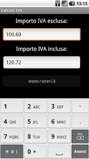 Calcolo IVA - screenshot thumbnail
