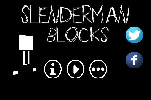 Slenderman Blocks