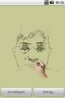 Screenshot of Pencil Live Wallpaper Free