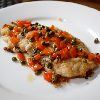 Pan-Fried Skate Wing with Capers