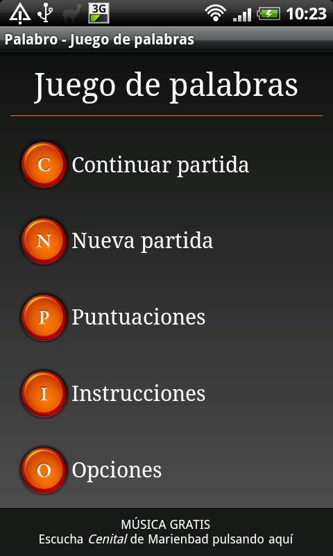 Palabro - Juego de palabras- screenshot