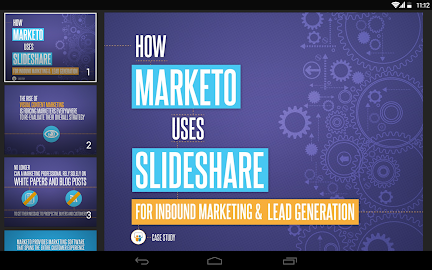 SlideShare Presentations Screenshot 1