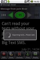 Screenshot of Big Text SMS