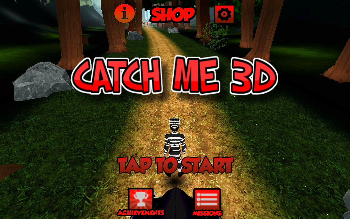 Catch Me 3D- screenshot