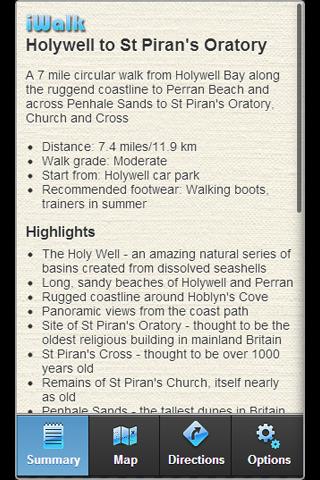 iWalk Holywell->Pirans Oratory