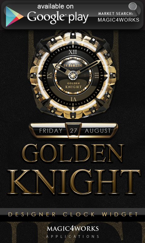 GO Locker Theme Golden Knight- screenshot