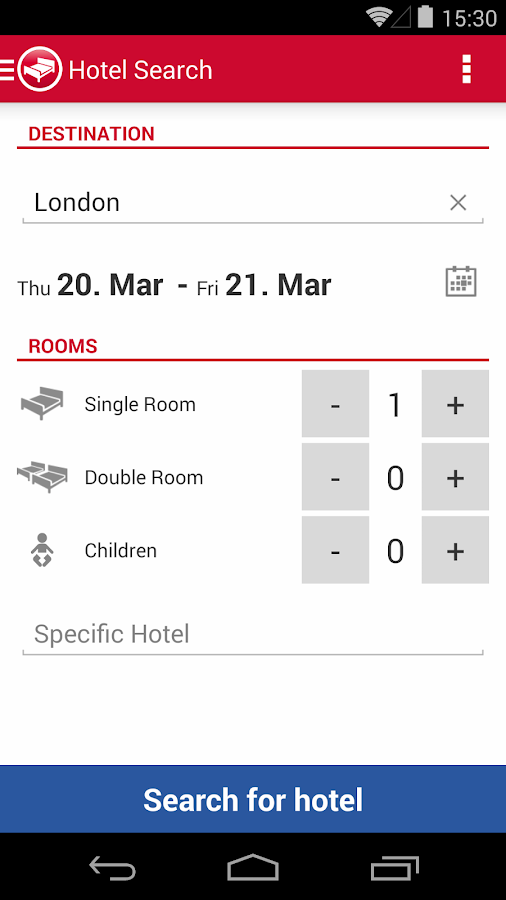 Hotel Search HRS (New) - screenshot