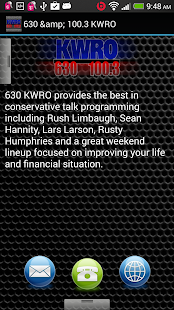 630 & 100.3 KWRO - screenshot thumbnail