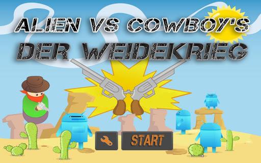 Alien vs Cowboy's - Weidekrieg