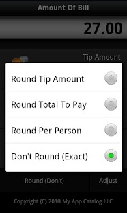 Cool Tip Calculator 2 - screenshot thumbnail