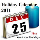 Holiday Calendar 2011-2012