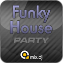 Funky House Party by mix.dj logo