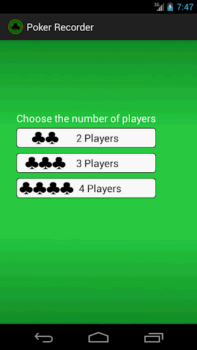 Poker Recorder