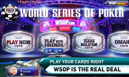 ... of PokerAPK Download | Download World Series of Poker Android App