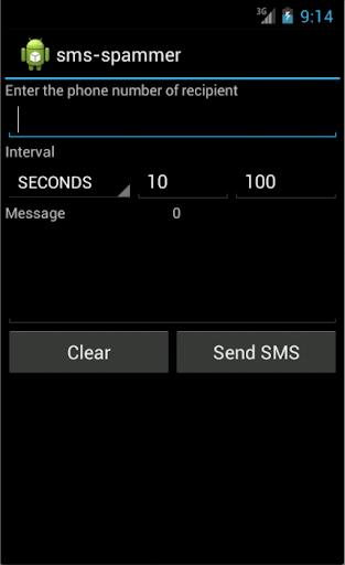 sms spammer