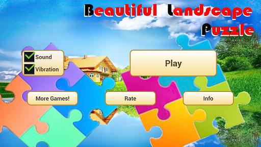 Beautiful Landscape Puzzle