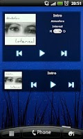 Screenshot of mMusic Mini Audio Player