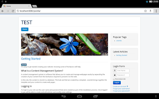 Screenshot of Bit Web Server (PHP,MySQL,PMA)