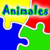Animals Puzzle Spanish