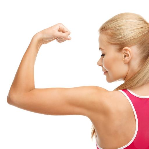 女性手臂锻炼 健康 LOGO-玩APPs
