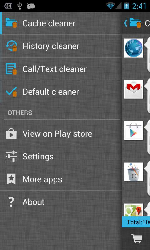 1Tap Cleaner - screenshot
