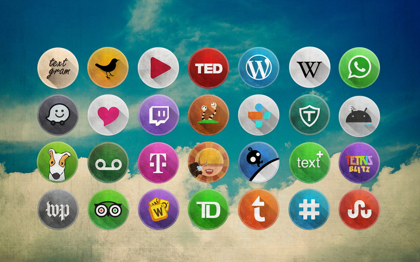 Retro Ui Icon Pack Android Apps On Google Play