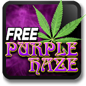 Marijuana Live Wallpaper - Purple Haze FREE