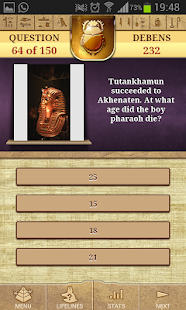 Genius - Quiz Ancient Egypt- screenshot thumbnail