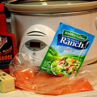 Buffalo Chicken Wraps (Crock Pot Recipe!).