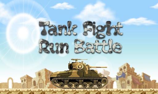 Tank Fight and Run Battle