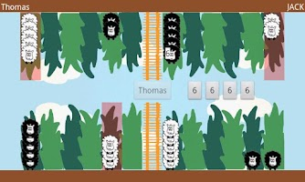 Screenshot of Fluffy Sheep Backgammon