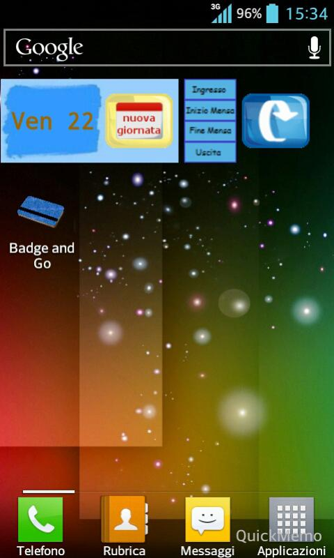 Badge and Go - screenshot