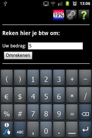 【免費財經App】BTW Omrekenen 2.0-APP點子