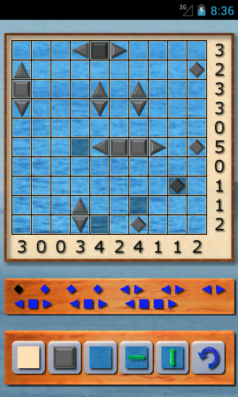 Find the ships - Solitaire 2 - screenshot