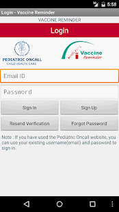 Vaccine Reminder - screenshot thumbnail