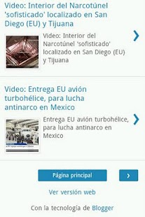 Narco Blog - screenshot thumbnail