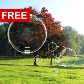 Soap Bubbles Free Live Wall.