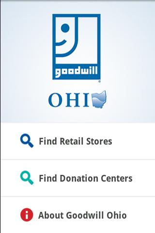 Goodwill Ohio - screenshot
