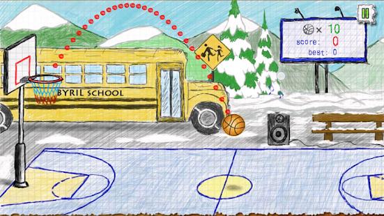 Doodle Basketball - náhled