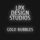 GOSMSTHEME Gold Bubbles