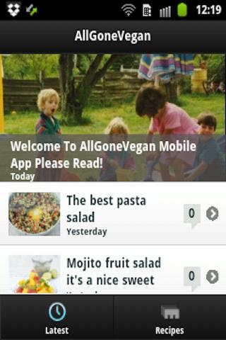 AllGoneVegan App