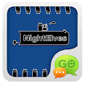 GOSMS Pro NightElves Theme